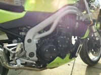 Triumph speed triple 955i excellent order.