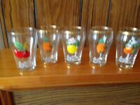 Britvic glasses - set of 5