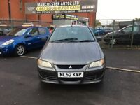 Mitsubishi Space Star 1.6 Mirage 5dr,automatic, FULL SERVICE HISTORY,