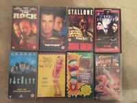 VHS Tapes 8 Films Movies Collection Age 15