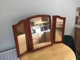 Dresser mirror.