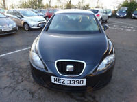 SEAT LEON 1.6 ESSENCE 5d 101 BHP 2 PREVIOUS KEEPERS + SERVICE RECORD MOT MARCH 2019 (NO ADVISORY)