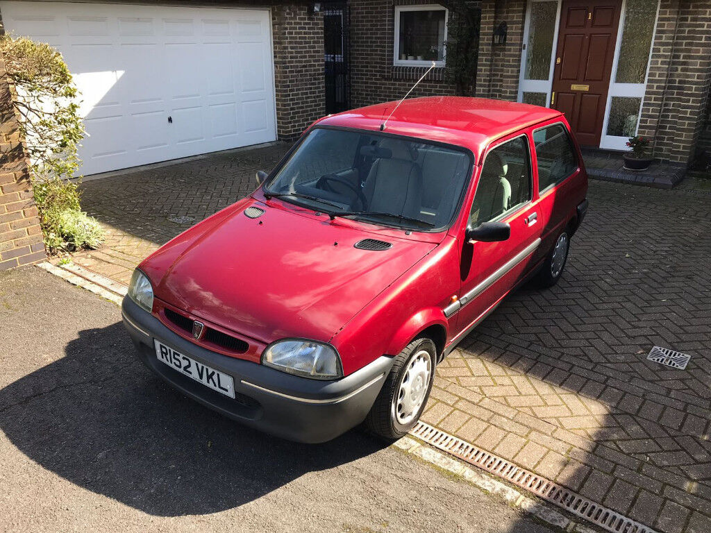 rare collectible rover metro ascot 1 owner -hatchback coupe with VERY low miles - MOT 2019 rover 100