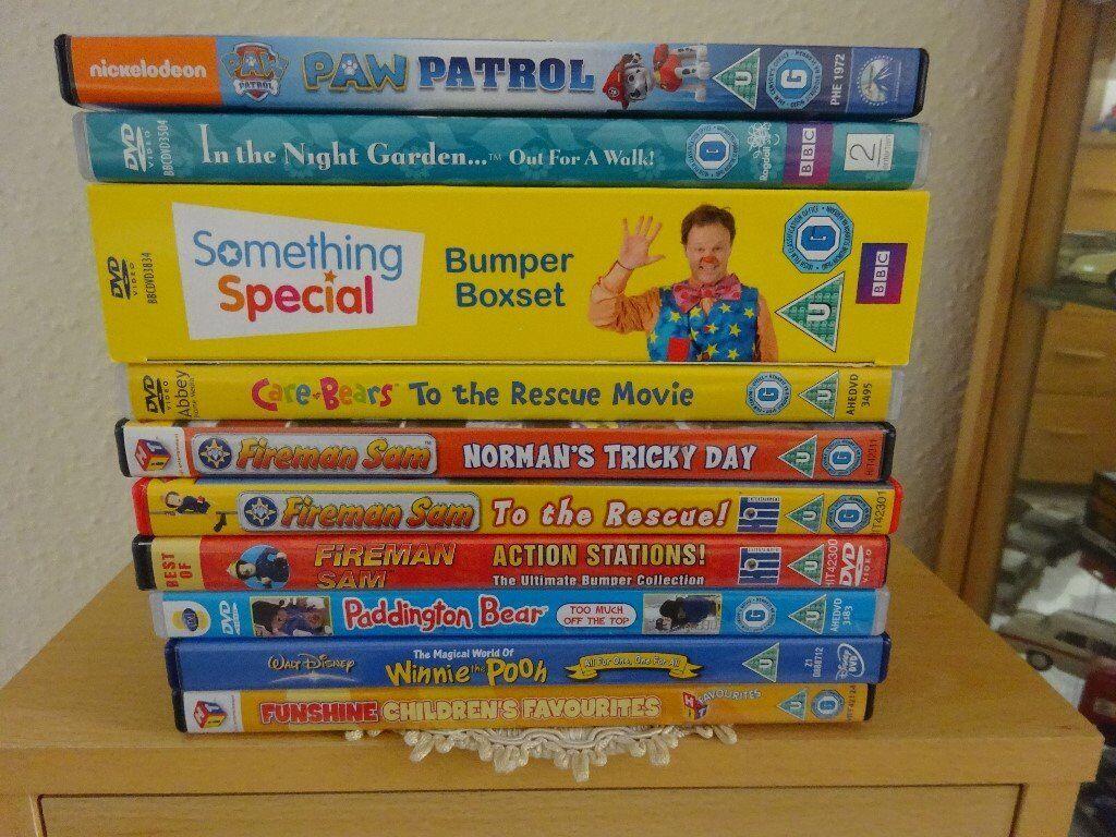 Children Dvd Collection In Weston Super Mare Somerset