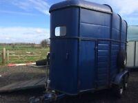 Ivor Williams 2 horse trailer
