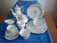 Attractive 80 piece Vintage China Dinner & Tea Service