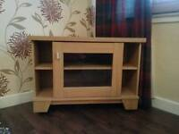 Caxton Oak Corner TV Cabinet