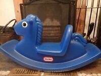 Little Tikes Blue Rocker / Rocking Horse