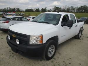 2013 Chevrolet Silverado 1500 CREW CAB 4WD! TOW PACKAGE! BED LIN