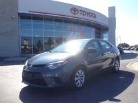 2014 Toyota Corolla LE POWER GROUP, B UP CAMERA, CD PLAYER, B TO