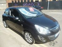 Vauxhall CORSA Active AC CDTI Ecoflex,3 dr hatchback,1 owner,2 keys,FSH,half leather seats,£30 tax