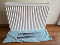 Second hand double radiator