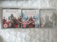 Assassins creed bundle for ps3