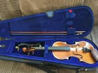 3/4 size student Stentor violin & case