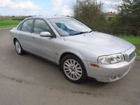 VOLVO S80 2.4 D5 SE Saloon DIESEL AUTOMATIC with Leather Cheap Auto GOOD MPG!