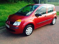 2006 Renault modus 1.4 oasis in excellent condition low mileage 1 years mot full service history
