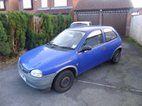 Vauxhall Corsa 1.0 2 door. 1999. Low miles for age. Good reliable runner.