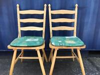 Table and 2 chairs(see all photos) FREE DELIVERY PLYMOUTH AREA