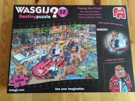 Wasjig - 1000 piece Destiny Puzzle Number 17