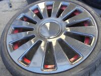"19"" AUDI RS8 STYLE / LENSO ALLOY WHEELS / TYRES - AUDI / VW / T4 ETC"