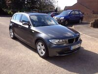 2007, 118d, BMW, SE, 1 Series, 105,000 Miles, Private plate included, Grey