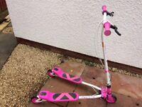 Pink V Rider skooter