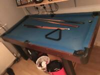 POOL / SNOOKER / TABLE TENNIS TABLE