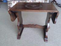 Small Vintage Drop Leaf Table