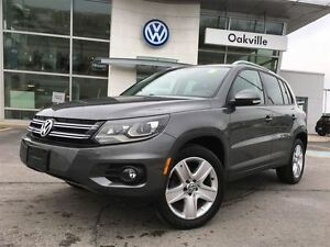 2013 Volkswagen Tiguan CL/PANORAMIC SUNROOF/BLUETOOTH/1 OWNER!