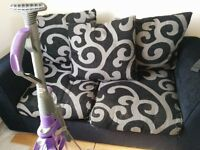 2 Two Seater Sofas - Good condition only a few frays