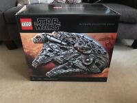 Lego 75192 Millennium Falcon Ultimate Collection Series USC, collectible, rare, limited, sold out!