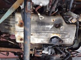 MITSUBISHI CANTER/FUSSO 2009 ENGINE SET. 3C13. 4M42 UNIT. IDEAL EXPORT OR UK USE.