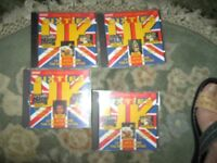 set of four CDs (Hots of the Sixties) all the old favourites by original artists