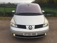 Renault Grand Espace 2.2 dCi Initiale 5dr 2005 (7 Seater), MPV with Long MOT+Cam Belt+Top Specs+FSH