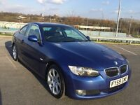 BMW 3 SERIES 3.0 330d SE 2dr E92 MONTEGO BLUE FSH SAT NAV