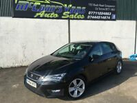 2015 SEAT LEON FR WITH TECH PACK 185BHP *FINANCE AVAILABLE*