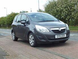 PART EXCHANGE! 2011 meriva 1.4 petrol 56700 miles 12 month mot good car