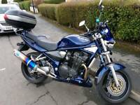 2002 suzuki bandit gsf 1200 FULL MOT 2 OWNERS FROM NEW