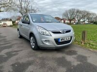 Hyundai I20 Silver 1.2 Petrol Manual 3 Door Hatchback 2012 Fantastic Car