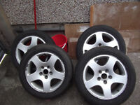"ALLOYS 16"" VW / SEAT / AUDI, 5 STUD"