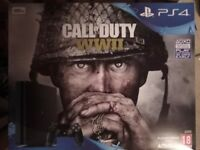 PS4 Console 500GB Call of Duty: WWII Bundle - Black