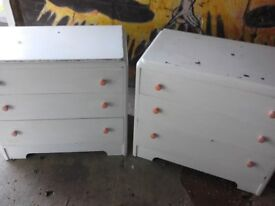Two Bescraft Dressing chests