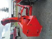George White Dual Auger Snowblower