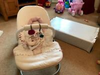 Mamas and Papas rocking baby seat cradle