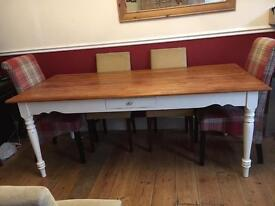 6-8 seat Laura Ashley dining table