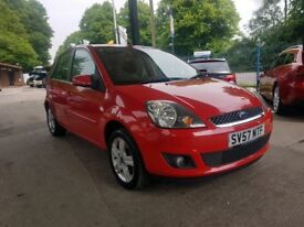Ford Fiest 1.2 Petrol Red Low milage. Drive very well. New Mot, 2keys Perfect for first car.