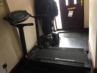 Vfit motorised treadmill