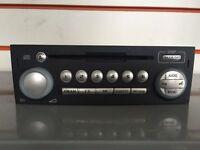 GENUINE MITSUBISHI COLT RADIO CD PLAYER HEAD UNIT 2004 - 2008 P/N MR587702HB