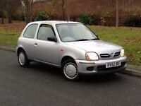 2002 Nissan Micra 1.0 16v S Manual Petrol 3dr Hatchback - P/X Welcome