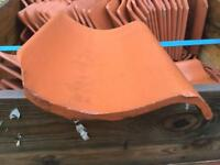 Reclaimed. Red clay pan roofing tiles. 2700. 60p each ono
